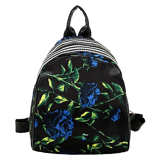 mode femmes Girls Print Cute Preppy Style School sac voyage sac à dos sac à prix pas cher