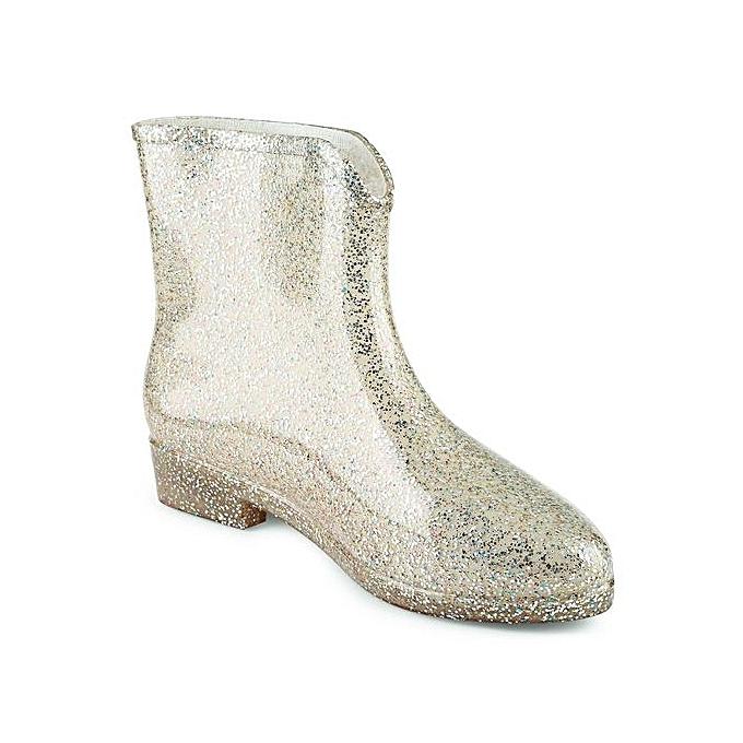 Fashion   Rain Boots Paillette EmbellishHommes t Floral Floral t Water Resistance Boots-GOLDEN à prix pas cher  | Jumia Maroc f0fc37