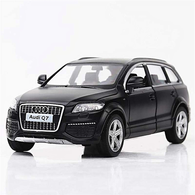 OEM 1 36 Scale Alloy Metal Luxury SUV voiture Model For Audi Q7 Model Pull Back Toys voiture à prix pas cher