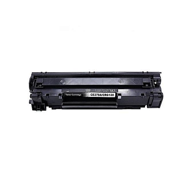 Generic PACK 2 Toner CE278A   78A pour HP Laserjet Pro Pro P1560 P1566 P1600 - noir à prix pas cher
