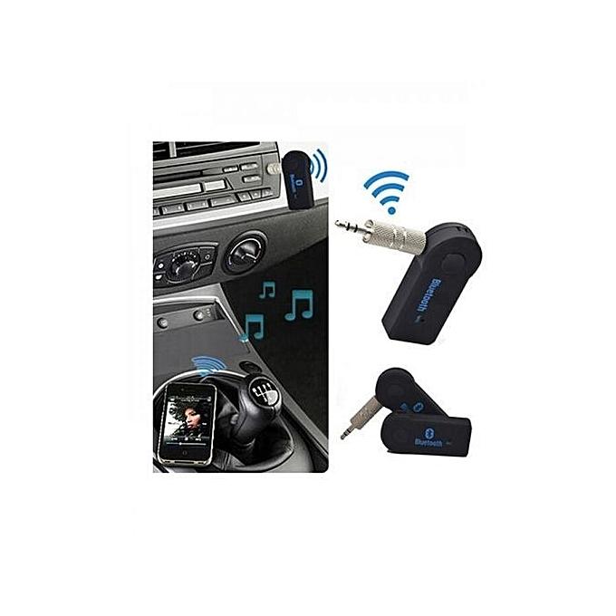 bluetooth pour voiture via prise jack aux pour voiture achat t l phones tablettes jumia maroc. Black Bedroom Furniture Sets. Home Design Ideas