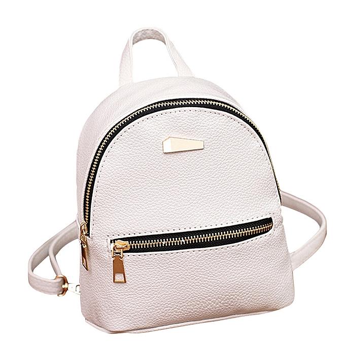 mode femmes cuir sac à dos School sac à dos College Shoulder Satchel voyage sac WH à prix pas cher