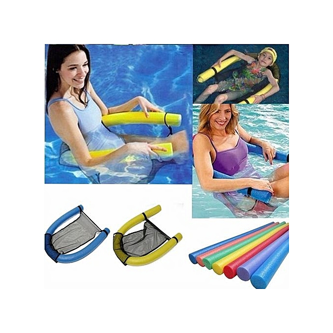 UNIVERSAL Swimming Pool Water Floating Chair Seat Bed Buoyancy Float Recliner Swim Learning Training à prix pas cher