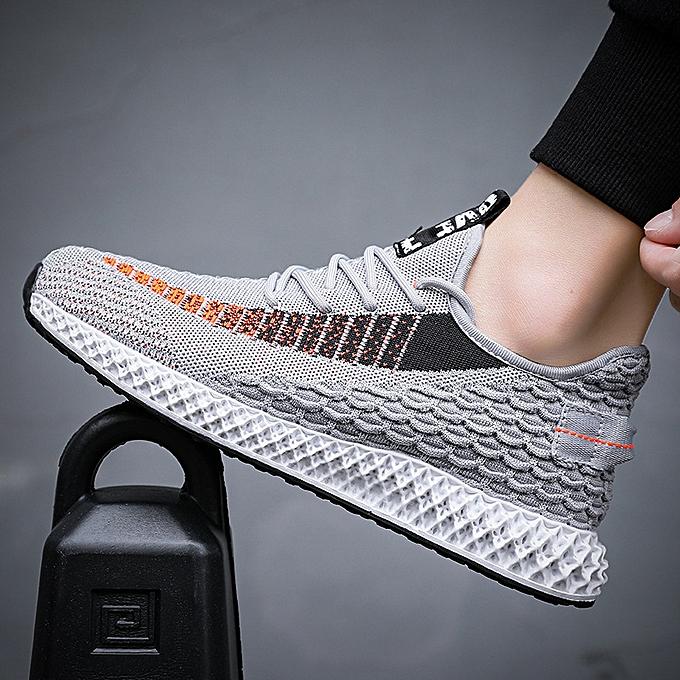 Fashion Men's chaussures, breathable coconut, low chaussures, hommes casual chaussures gris à prix pas cher    Jumia Maroc