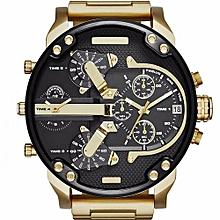 0e81aa6d5 Montre de luxe pour hommes, acier inoxydable, sport, quartz analogique,  montres pour