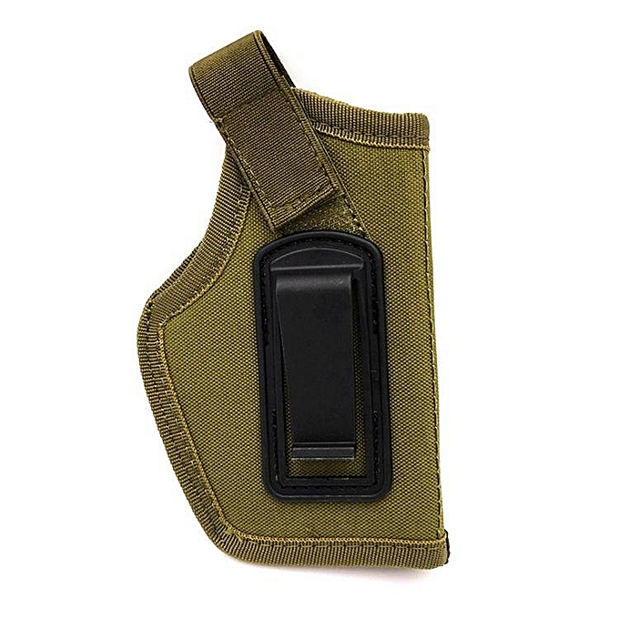 UNIVERSAL imperméable Nylon Universal Hunting Multifunction Tactical Stealth Waist Belts High Elastic portable respirant Holsters Pouches vert à prix pas cher