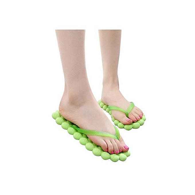 Fashion Wohommes Summer Casual Flip-flops Slippers Beach chaussures Traveling Massage Gift à prix pas cher    Jumia Maroc