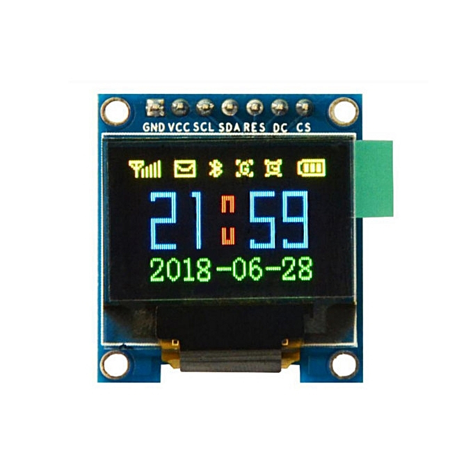 UNIVERSAL Geekcreit® 0.95 Inch 7pin Full Couleur 65K Couleur SSD1331 SPI OLED Display For Arduino à prix pas cher