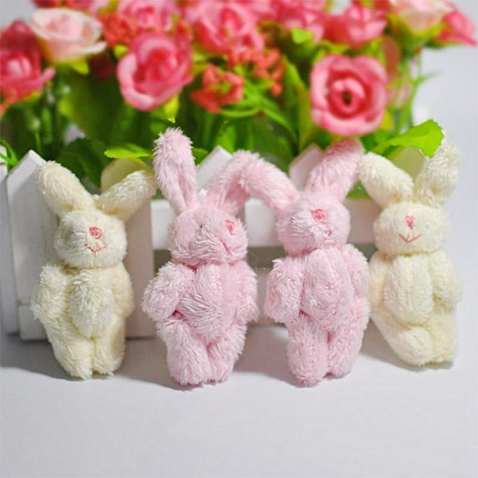 Autre 1 Piece Mini 6CM Joint Rabbit Peu Plush Stuffed Toy Doll GarHommest & Hair Accessories Decor Plush Toys Dolls(LBN) à prix pas cher
