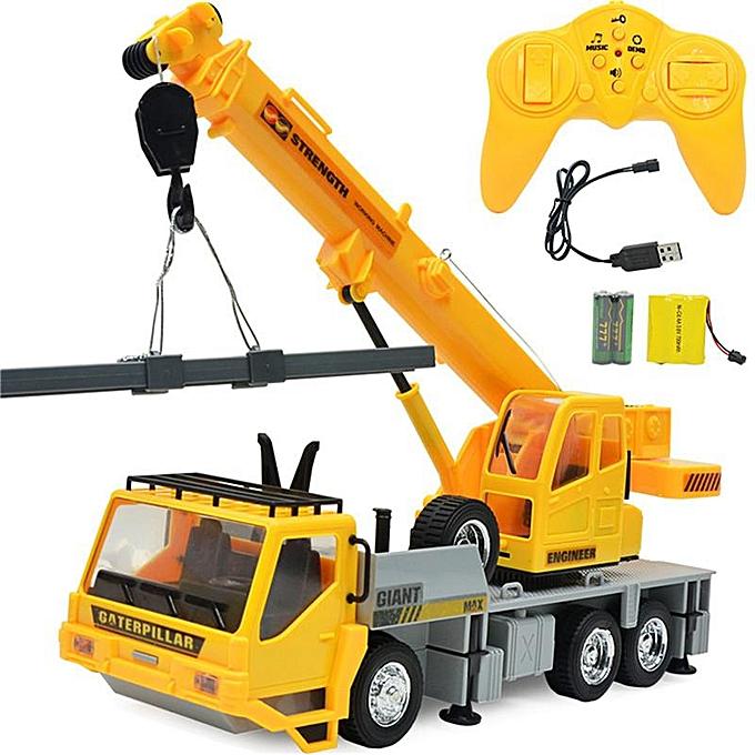 OEM 6 Channel Functional Dump Truck toy Car Vehicle Electric RC Remote Control à prix pas cher