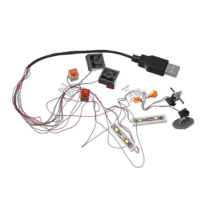 OEM Le kit d'éclairage à DEL Old Tree UNIQUEMENT Pour le go10252 Modèle Volkswagen Beetle, allumage des briques 21003 à prix pas cher