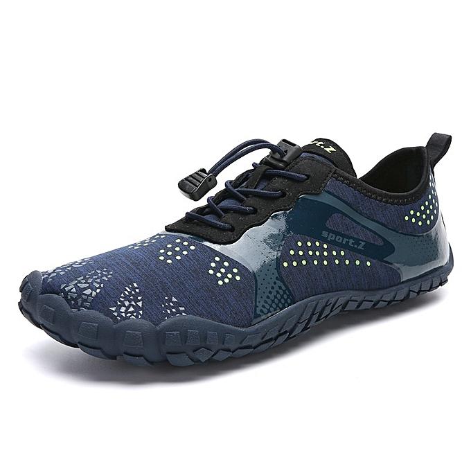 Other nouveau mode de plein air Hiking Couple Five-fingerouge Swimming Mountaineebague Sports plage Waterfront chaussures-bleu à prix pas cher