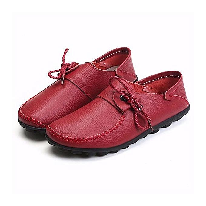 Fashion femmes Soft Comfortable Leather Flats US Taille 5-12 à prix pas cher    Jumia Maroc