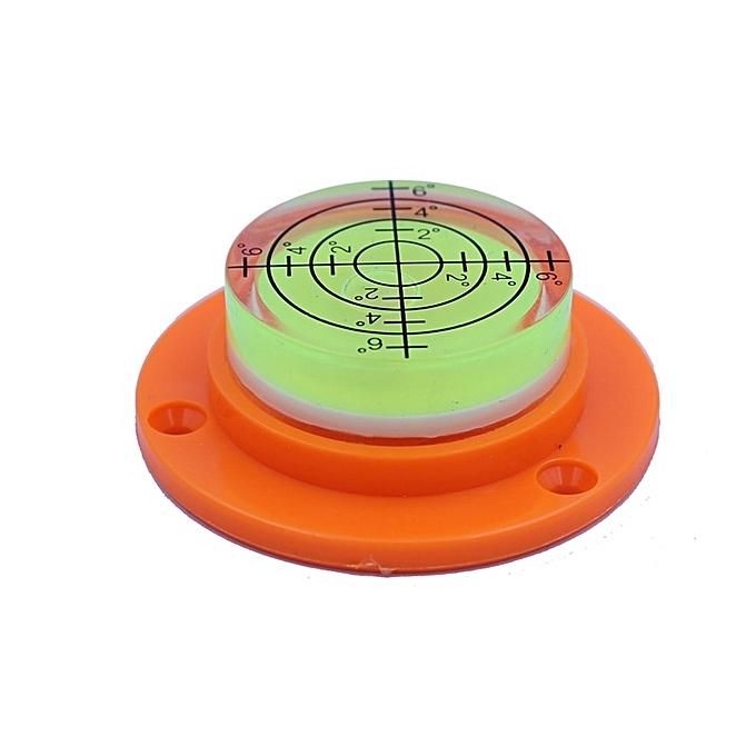 Autre HACCURY Bulls eye Bubble level Universal Level Bubble Round horizontal bubble 5017mm(vert) à prix pas cher