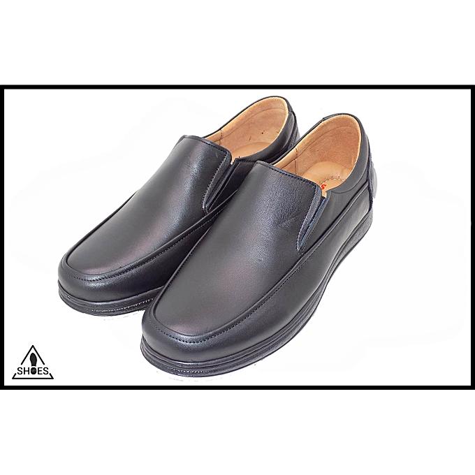 MY MY MY SHOES Chaussure Médicale MY SHOES Homme, 100 % Cuir - Noir à prix pas cher    Jumia Maroc a81778