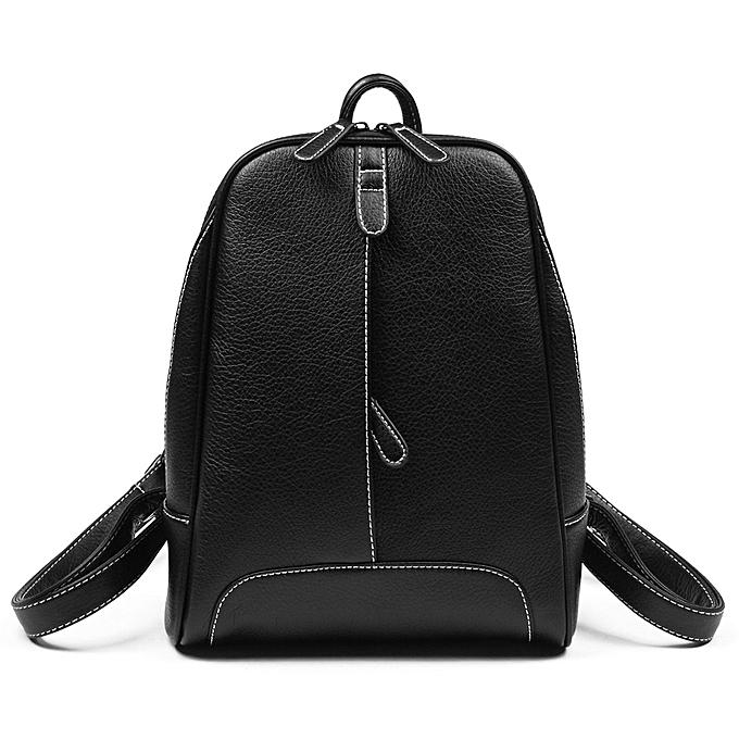 Generic mode Female sac Korean Style Décontracté College Wind PU cuir sac à dos à prix pas cher