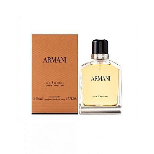 Eau De Armani 50ml Pour Perfume Homme Toilette D'arômes USpGzMVLq
