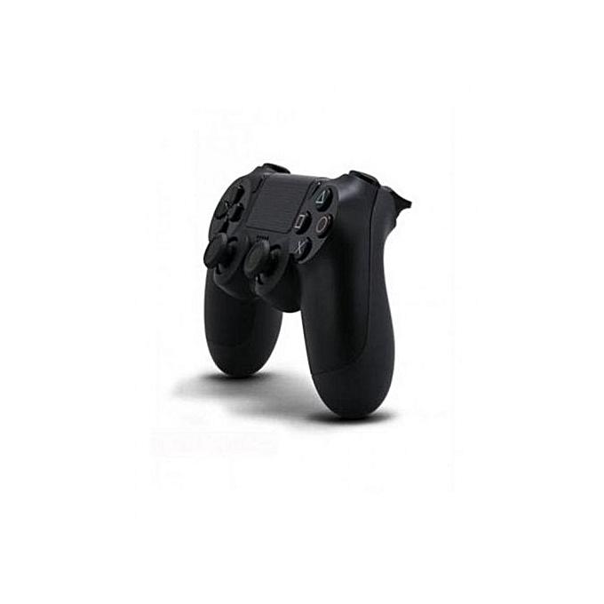 sony manette sans fil dualshock 4 v2 noir prix pas. Black Bedroom Furniture Sets. Home Design Ideas