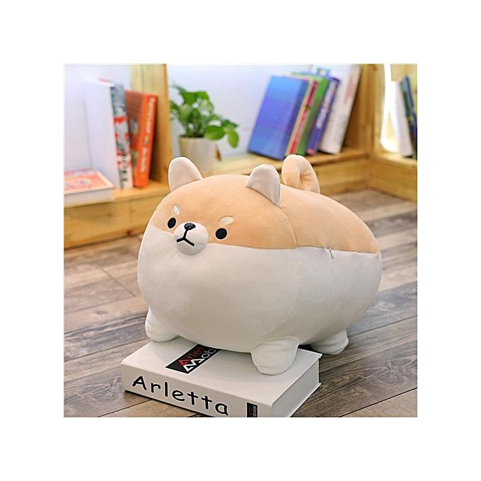 Autre nouveau 40 50cm Cute Shiba Inu Dog Plush Toy Stuffed Soft Animal Corgi Chai PilFaible Christmas Gift for Enfants Kawaii Valentine Present(jaune) à prix pas cher