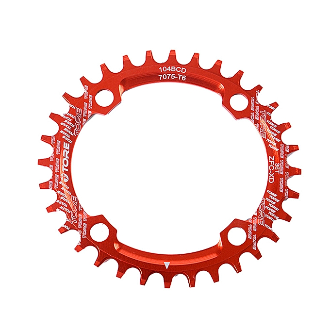 OEM 104BCD 36T Ultralight Alloy Bike Bicycle Chainring Oval Round Chainwheel à prix pas cher