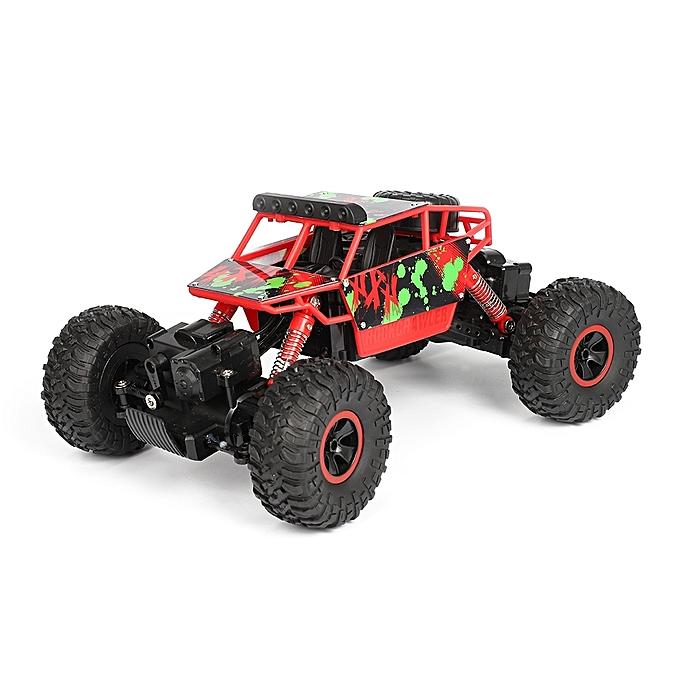 UNIVERSAL X Power S-001 1 18 Mini 2.4G 4WD RC Crawler Off Road voiture, 130 Strong Magnetic voiturebon Brush Motor (rouge) à prix pas cher