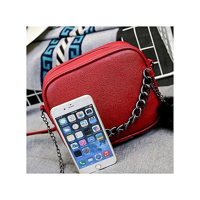 nouveauorldline femmes Messenger sacs Slim bandoulière Shoulder sacs Handsac petit Body sacs-rouge à prix pas cher