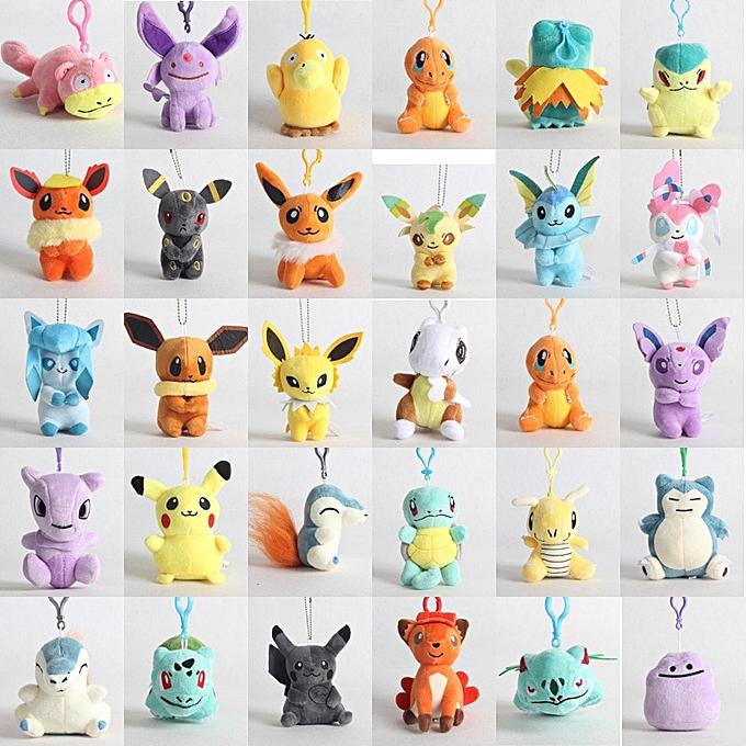 Autre 10cm pikachued plush toys kawaii cute soft small stuffed animal  toys Cartoon Soft Comfortable Doll Toys For Girls Boy(7) à prix pas cher