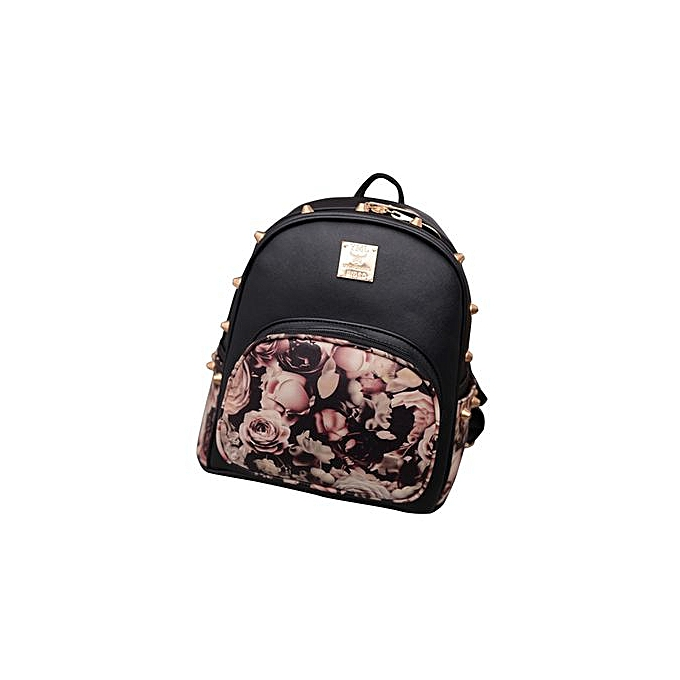 Fashion SingedanGirl Mini Ipad Backpack Casual Lightweight Daily Backpack BKB -noir à prix pas cher
