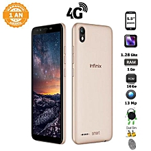 bc9ce2c59b04d6 Infinix Smart 2 - 5.5 Pouces - 4G - 1 Go Ram - 16 Go Rom - 13MP - Android  8.1 (Oreo) - Gold