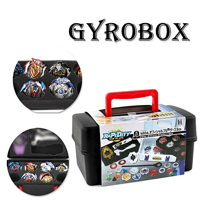 Generic Portable Waterproof  Box 8 in 1 Carrying Case For Beyblade Burst Spinning Top à prix pas cher