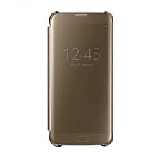 Etui Bord Clear View Cover Originale Societe Pour Samsung Galaxy A7 2016 EF ZG935CFEGWW