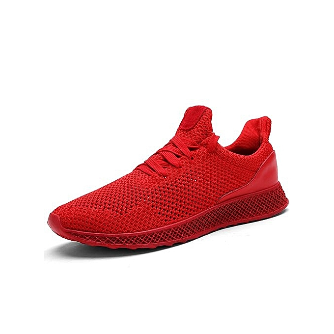 Fashion  s Breathable Light Weight Sport Shoes Shoes Shoes Sneakers-Red à prix pas cher    Jumia Maroc 7b9256