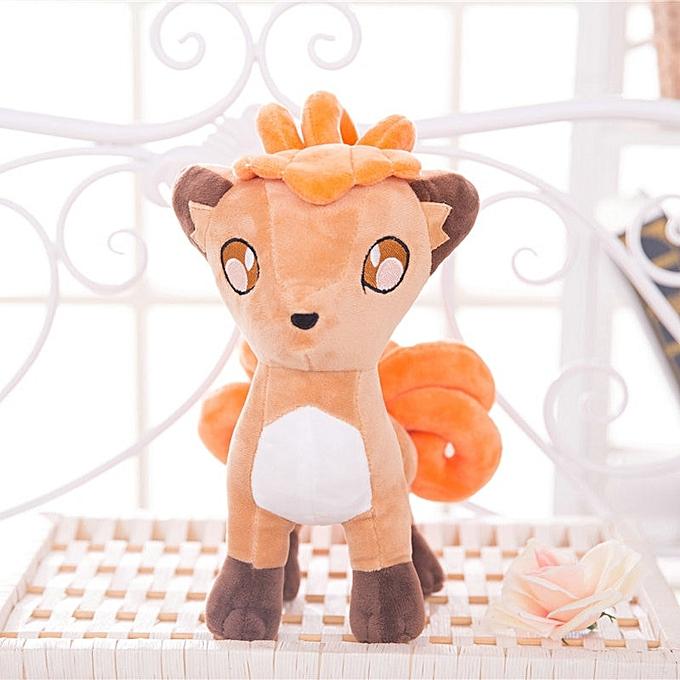 Autre Pikachu Plush Toy Jigglypuff Poliwhirl Charhommeder Gengar toys Movie anime Doll For Kid baby birthday gifts Anime Soft(30cm Vulpix) à prix pas cher