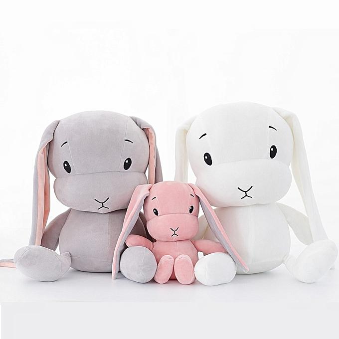 Autre 50CM 30CM Cute rabbit plush toys Bunny Stuffed &Plush Animal   Toys doll   accompany sleep toy gifts For Enfants WJ491(rose) à prix pas cher