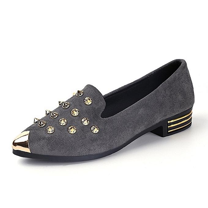 Autre Flat Rivets Rivets Rivets Students Casual Single Shoes à prix pas cher  | Jumia Maroc a95821