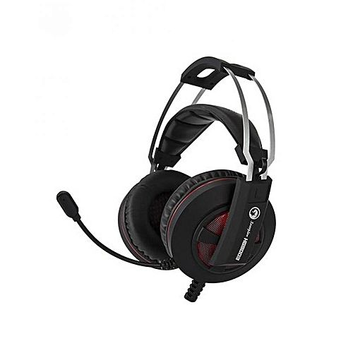 marvo hg9003 casque gamer 7 1 usb surround st r o avec clairage led et microphone acheter en. Black Bedroom Furniture Sets. Home Design Ideas