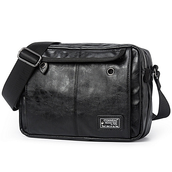Fashion Luxury Brand Men Bag Leather Casual Crossbody Shoulder Bags For Men Designer Vintage Small Flap Travel Messenger Bag Male Bolsas à prix pas cher
