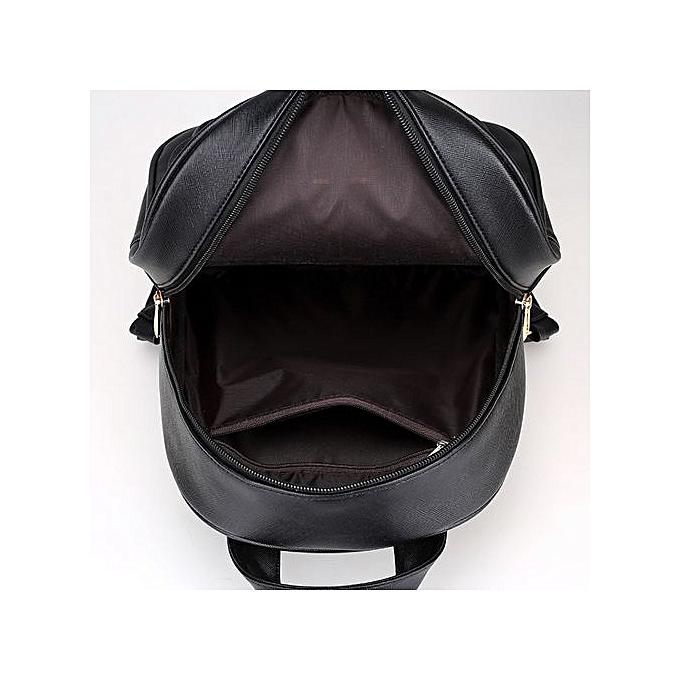 Generic Tectores mode Accessories 4 Sets femmes Girl voyage sac à dos School sac Shoulder sac Handsac BK à prix pas cher