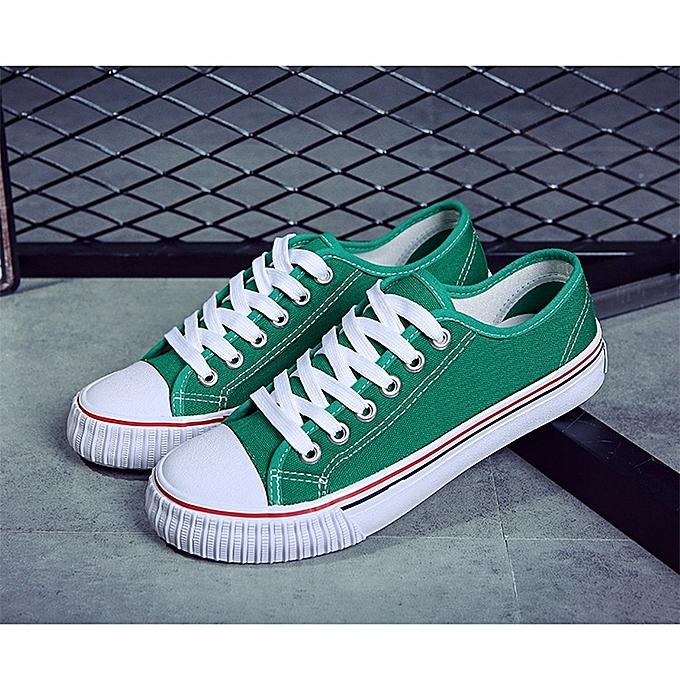 Other Spring Classic Men's Korean New Couple Canvas Sport chaussures-vert à prix pas cher    Jumia Maroc