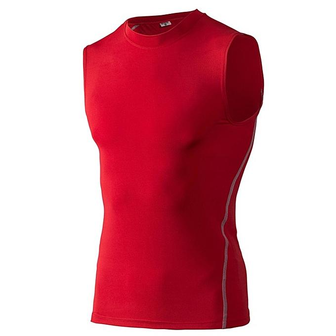 Other mode Hommes& 039;s Elastic FonctionneHommest Shirts Basketball Tank hauts -rouge à prix pas cher