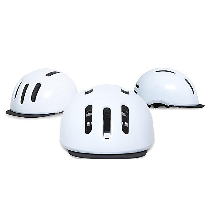 UNIVERSAL Sport Cycling Leisure Helmet Removable Brim Design Sweat Absorbent Helmet Anti Impact Helmet à prix pas cher