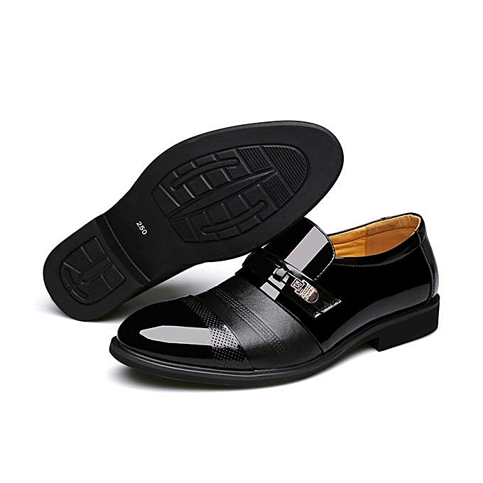 Fashion Fashion   Cap Toe Pointed Toe Slip On Business Business On Formal Shoes-EU à prix pas cher  | Jumia Maroc 51e499