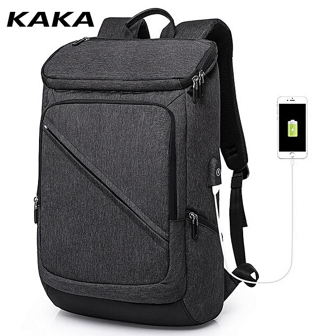 Kaka Sac À Dos sacages Étudiants École Ordinateur portable avec Chargeur Port USB à prix pas cher