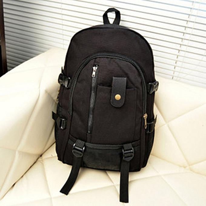 Generic Excellent Hommes Army Couleur Vintage Design voyage sac à dos Décontracté toile sac à doss à prix pas cher