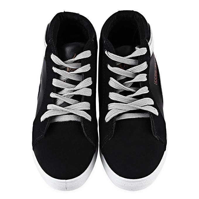 Fashion Casual Stars Decoration Patchwork   High-top Shoes à à à prix pas cher  | Jumia Maroc 7a51ad