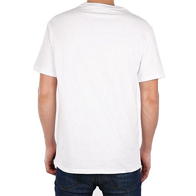 T-Shirt STANDARD GRAPHIC CREW GOOD/BET – Blanc