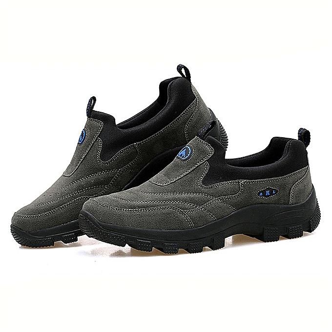 Fashion Men Outdoor Hiking Fitness Trekking chaussures Sport Walking Antiskid Thicken baskets à prix pas cher