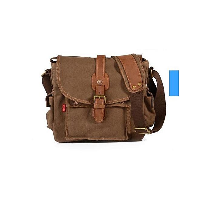 Generic Nice mode Hommes's Shoulder sac toile Vintage Messenger sac à prix pas cher