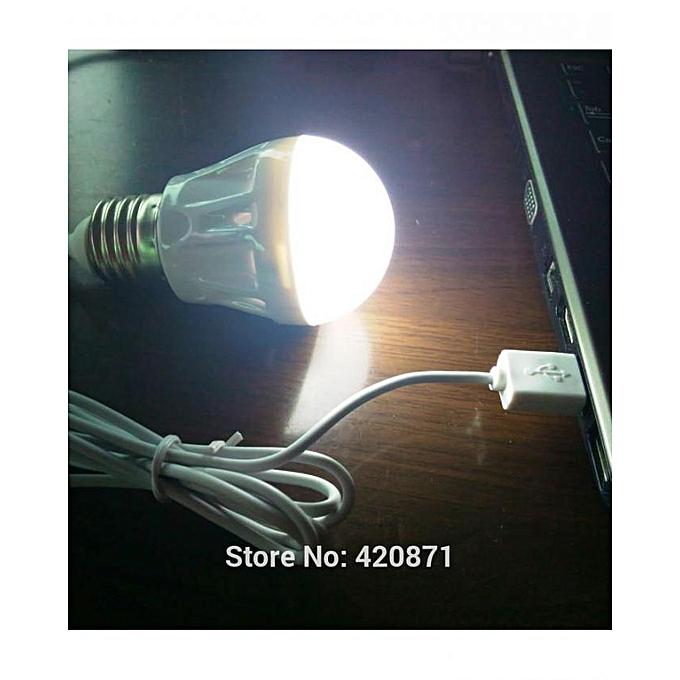 Energie Lampe Ampoule Led Energie Puissante 5 V 5 W Pour Lecture