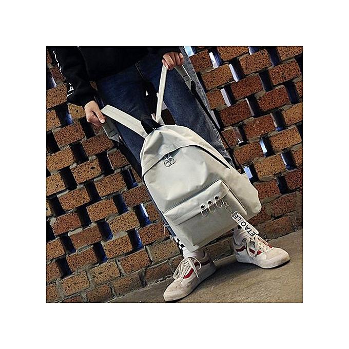 Fashion Xiuxingzi Wohommes Fashion Ring Decoration Shoulder Bookbags Satchel Travel Backpack GY à prix pas cher
